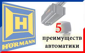 5 плюсов в пользу автоматики Херманн?