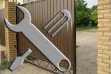 Установка и ремонт откатных ворот
