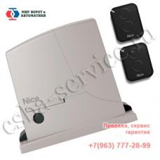 Nice ROX600 KIT - один из самых надежных и популярных комплектов для установки на откатные ворота.