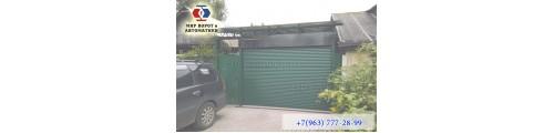 Роллетные ворота это практичное решение для вашего гаража!