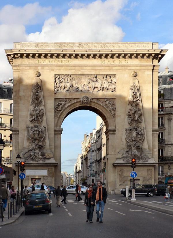 Фото Ворот Сен-Дени. Фото в статью на сайте как появились откатные ворота?