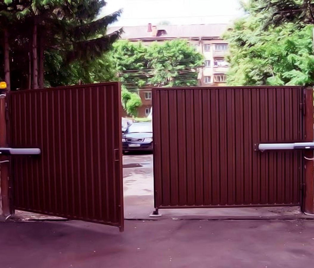 Ремонт распашных ворот. Обслуживание и консультации в Балашихе.
